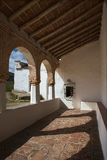 ara夫人我们的门廊寺庙 库存图片