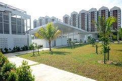 Ara Damansara清真寺在雪兰莪,马来西亚 图库摄影