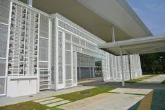 Ara Damansara Mosque in Selangor, Malaysia. SELANGOR, MALAYSIA – JUNE 15, 2015: Ara Damansara Mosque is a modern design mosque on the green technology concept Stock Photography
