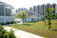 Ara Damansara Mosque in Selangor, Maleisië Stock Fotografie