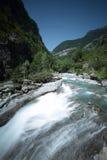 Ara del río Foto de archivo libre de regalías