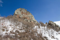 Ara mounatain. The rocks of mountain's  Ara Stock Photo