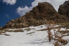 Ara mounatain. The rocks of mountain's  Ara Stock Photography