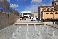 The Ara Pacis Augustae museum in Rome Stock Image