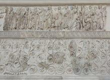 Ara Pacis, Roma Immagine Stock Libera da Diritti