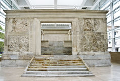Ara Pacis - Rome stock photography