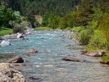 Ara River in the Ordiso Valley stock photos