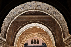 Arab arches Stock Images