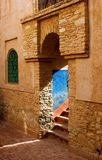 Arab architecture. Details of classic arab architecture Stock Image