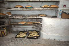 Arab bakery Royalty Free Stock Image