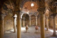 Arab bath. In the Palma de Mallorca, Spain Stock Photos