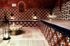 Arab Baths. In Granada, Andalusia, Spain Royalty Free Stock Images