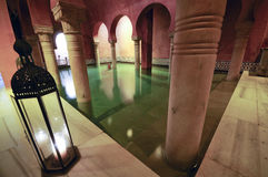 Arab Baths. In Granada, Andalusia, Spain Stock Photo