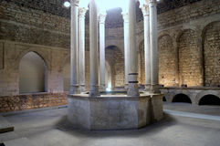Arab baths in Girona, Stock Images