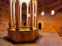 Arab Baths, Girona, Spain Royalty Free Stock Images