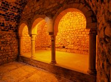 Arab Baths, Girona, Spain Royalty Free Stock Photography