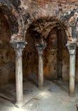 Arab baths in Majorca Stock Photos