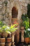 Arab baths in Palma de Mallorca Royalty Free Stock Photo