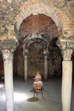 Arab baths in Palma de Mallorca Stock Photos