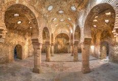 Arab baths in Ronda Royalty Free Stock Photo