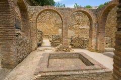 Arab Baths of Ronda Spain Royalty Free Stock Photos