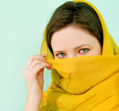 Arab beauty Stock Photography