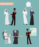 Arab Business People Meeting Stock Photos