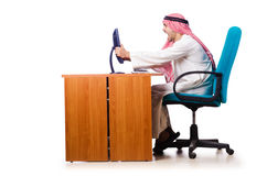 Arab businessman in business Royalty Free Stock Photography