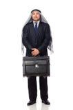 Arab businessman isolated on white Royalty Free Stock Image