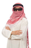 Arab businessman isolated on white Royalty Free Stock Photo