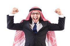 Arab businessman Stock Images