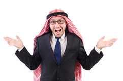 Arab businessman in specs Stock Photo
