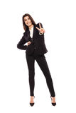 Arab businesswoman full length Stock Photos