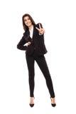 Arab businesswoman full length Stock Photos