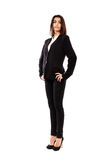 Arab businesswoman full length Stock Images
