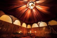 Arab cafe interior Stock Photography