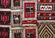 Arab carpets Stock Image