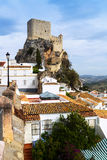 Arab castle  in Olvera. province of Cadiz Royalty Free Stock Image