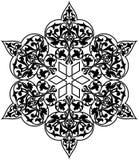 Arab circle pattern royalty free illustration
