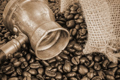 Arab coffee pot Stock Image