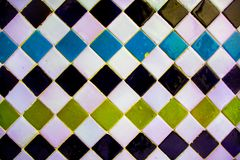 Arab coloured mosaic royalty free stock images