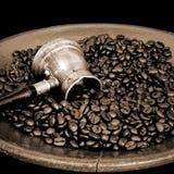 Arab copper coffee pot Stock Image