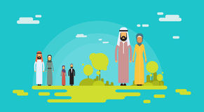 Arab Couple Muslim People Man Woman Holding Hands Royalty Free Stock Photography