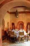 Arab dinning hall Stock Images