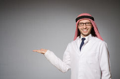Arab doctor Royalty Free Stock Photo
