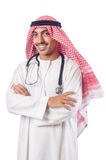 Arab doctor with stethoscope Stock Image