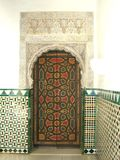 Arab door Royalty Free Stock Images