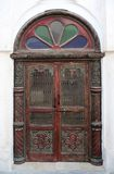 Arab door in a traditional style Stock Photography