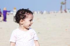 Arab egyptian baby girl Royalty Free Stock Photo
