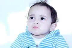 Arab egyptian baby girl Stock Image